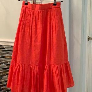 Choral Eyelet Skirt